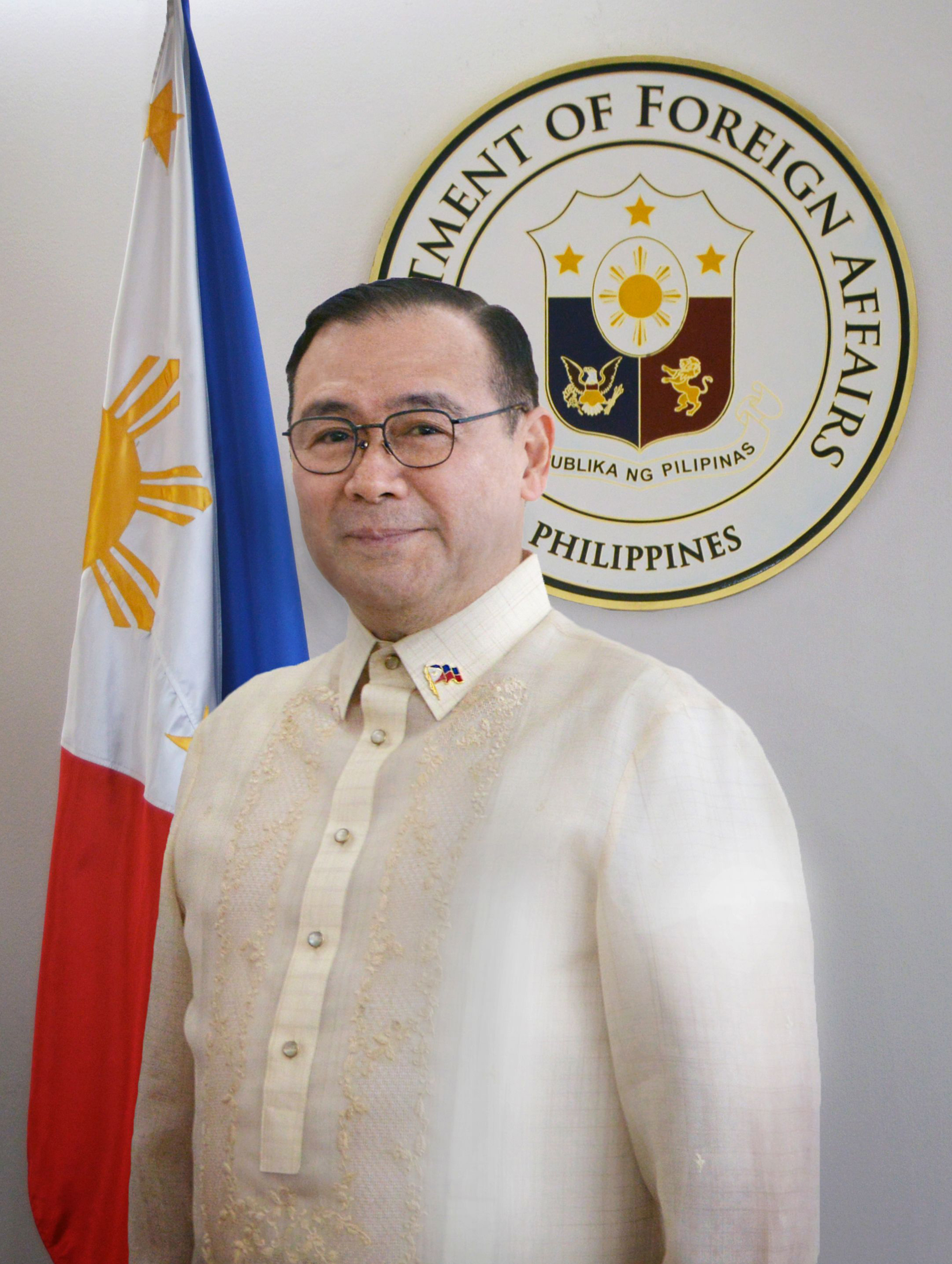 Official Photo of Foreign Affairs Secretary Teodoro L Locsin Jr. FINAL